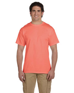 Retro Hth Coral 5 oz., 100% Heavy Cotton HD® T-Shirt