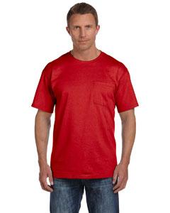 True Red 5 oz., 100% Heavy Cotton HD® Pocket T-Shirt
