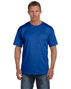Royal 5 oz., 100% Heavy Cotton HD® Pocket T-Shirt
