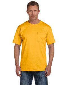 Gold 5 oz., 100% Heavy Cotton HD® Pocket T-Shirt