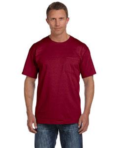 Maroon 5 oz., 100% Heavy Cotton HD® Pocket T-Shirt