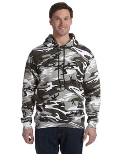 Urban Woodland Camouflage Pullover Hooded Sweatshirt