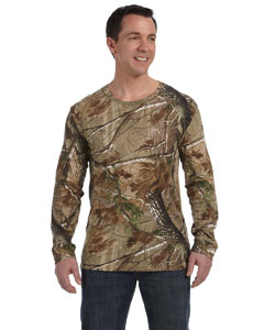 Ap Officially Licensed REALTREE® Camouflage Long-Sleeve T-Shirt