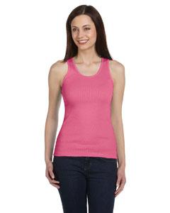 Very Pink Women's 2x1 Rib Tank