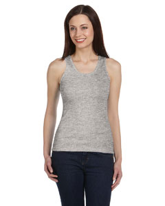 Athletic Heather Women's 2x1 Rib Tank