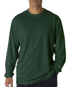 Forest Green Adult B-Core Long-Sleeve Performance Tee