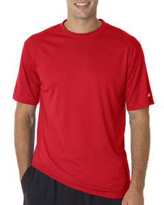 Red Adult B-Core Short-Sleeve Performance Tee