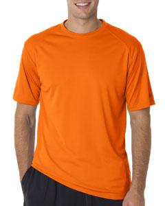 Safety Orange Adult B-Core Short-Sleeve Performance Tee