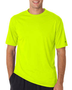 Safety Yelw/ Grn Adult B-Core Short-Sleeve Performance Tee