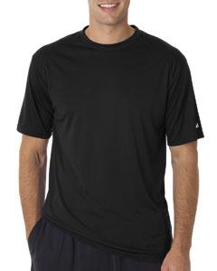 Black Adult B-Core Short-Sleeve Performance Tee