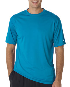 Electric Blue Adult B-Core Short-Sleeve Performance Tee