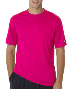 Hot Pink Adult B-Core Short-Sleeve Performance Tee