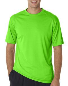 Lime Adult B-Core Short-Sleeve Performance Tee