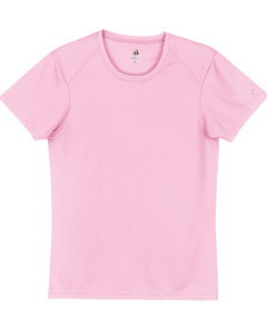 Pink Ladies' B-Core Short-Sleeve Performance Tee