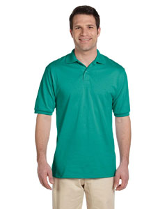 Jade Men's 5.6 oz., 50/50 Jersey Polo with SpotShield™
