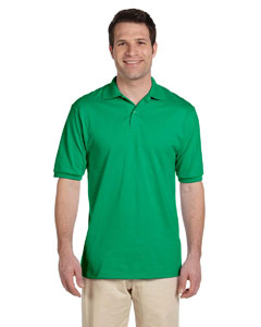 Kelly Men's 5.6 oz., 50/50 Jersey Polo with SpotShield™