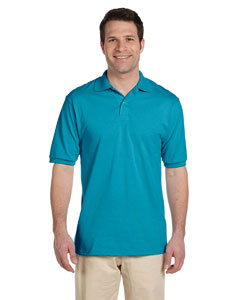 California Blue Men's 5.6 oz., 50/50 Jersey Polo with SpotShield™
