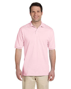 Classic Pink Men's 5.6 oz., 50/50 Jersey Polo with SpotShield™