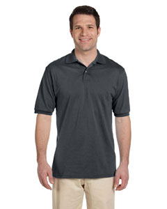 Charcoal Grey Men's 5.6 oz., 50/50 Jersey Polo with SpotShield™