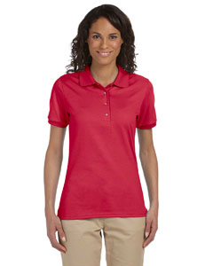 True Red Women's 5.6 oz., 50/50 Sport Shirt with SpotShield™
