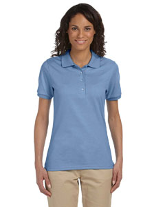 Light Blue Women's 5.6 oz., 50/50 Sport Shirt with SpotShield™