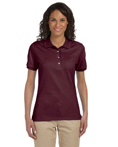 Maroon Women's 5.6 oz., 50/50 Sport Shirt with SpotShield™