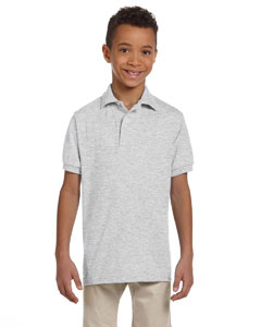 Ash Youth 5.6 oz., 50/50 Jersey Polo with SpotShield™