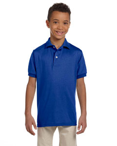 Royal Youth 5.6 oz., 50/50 Jersey Polo with SpotShield™