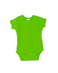 Key Lime Infant 5 oz. Baby Rib Lap Shoulder Bodysuit