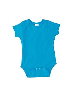 Turquoise Infant 5 oz. Baby Rib Lap Shoulder Bodysuit