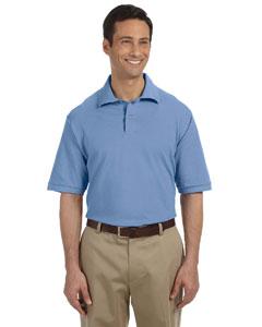 Light Blue Men's 6.5 oz. Cotton Piqué Polo