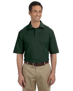 Forest Green Men's 6.5 oz. Cotton Piqué Polo