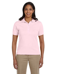 Classic Pink Women's 6.5 oz. Cotton Piqué Polo