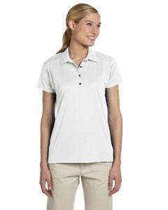 White Women's 4.1 oz., 100% Polyester Micro Pointelle Mesh