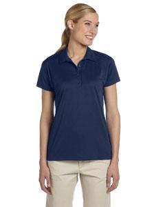 J Navy Women's 4.1 oz., 100% Polyester Micro Pointelle Mesh