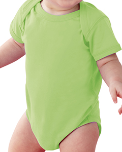 Key Lime Infant Fine Jersey Lap Shoulder Bodysuit