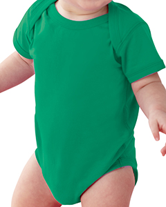 Kelly Infant Fine Jersey Lap Shoulder Bodysuit