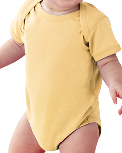 Butter Infant Fine Jersey Lap Shoulder Bodysuit
