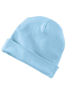 Light Blue Infant 5 oz. Baby Rib Cap