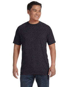 Heather Black Ringspun T-Shirt