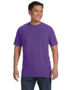 Heather Purple Ringspun T-Shirt