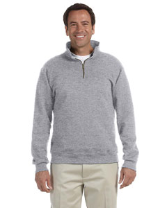 Oxford 9.5 oz., 50/50 Super Sweats® NuBlend® Fleece Quarter-Zip Pullover