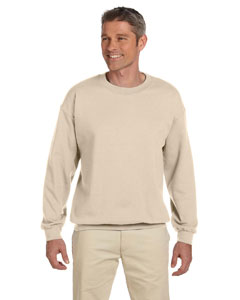 Sandstone 9.5 oz., 50/50 Super Sweats® NuBlend® Fleece Crew