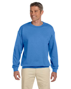 Columbia Blue 9.5 oz., 50/50 Super Sweats® NuBlend® Fleece Crew