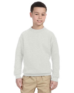 Ash Youth 9.5 oz., 50/50 Super Sweats® NuBlend® Fleece Crew