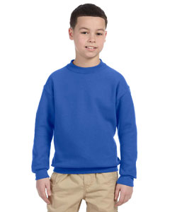 Royal Youth 9.5 oz., 50/50 Super Sweats® NuBlend® Fleece Crew