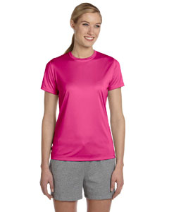 Wow Pink Women's 4 oz. Cool Dri® T-Shirt