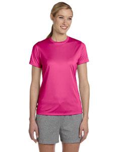 Wow Pink Women's 4 oz. Cool Dri® T-Shirt