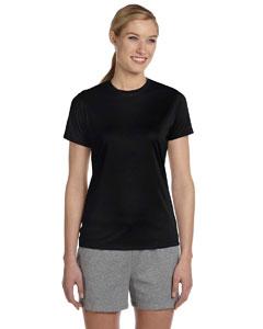 Black Women's 4 oz. Cool Dri® T-Shirt