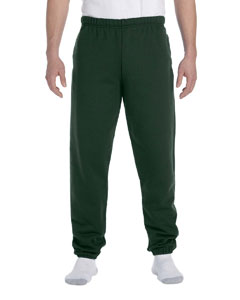 Forest Green 9.5 oz., 50/50 Super Sweats® NuBlend® Fleece Pocketed Sweatpants